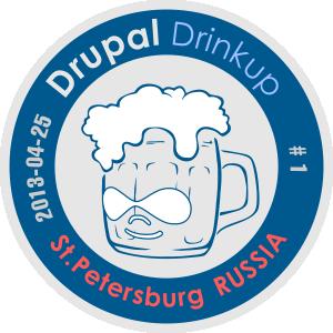 Drupal Drinkup 1 logo